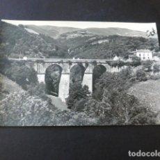 Postales: BECERREA LUGO VIADUCTO DE CRUZUL. Lote 164749162