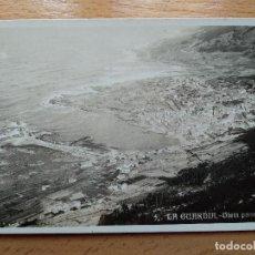 Postales: POSTAL FOTOGRAFICA VISTA PANORAMICA. LA GUARDIA. PONTEVEDRA. HOTEL INTERNACIONAL CASA TABOAS. Lote 164923098