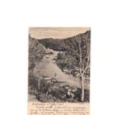 Postales: PONTEVEDRA.(GALICIA).- LERÉZ. AUTÓGRAFO DEL ARQUITECTO EUGENIO RIVERA.. Lote 165191294