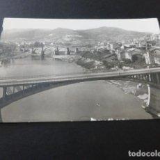 Postales: ORENSE PUENTES SOBRE EL RIO MIÑO. Lote 165197334