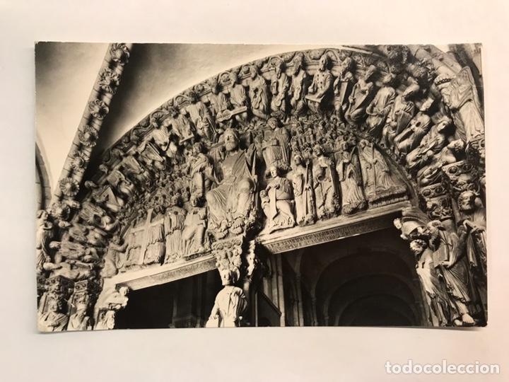 SANTIAGO DE COMPOSTELA. POSTAL NO. 15, ARCO CENTRAL DEL PÓRTICO DE LA GLORIA. EDITA: FISA (A.1959) (Postales - España - Galicia Moderna (desde 1940))