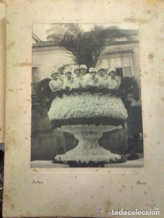 FOTOGRAFÍA UN CARNAVAL EN ORENSE 1915. MEDIDAS 32 X 24 CM. PACHECO FOTÓGRAFO. (Postales - España - Galicia Antigua (hasta 1939))