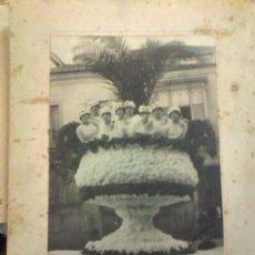 Postales: FOTOGRAFÍA UN CARNAVAL EN ORENSE 1915. MEDIDAS 32 X 24 CM. PACHECO FOTÓGRAFO.. Lote 165748498