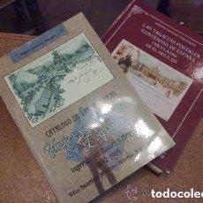 Postales: EL CATÁLOGO DE HAUSER Y MENET, 1892-1900. + EL CATÁLOGO DEL LAS POSTALES CIRCULADAS EN EL SIGLO XIX. Lote 165748750