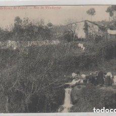Postales: ALREDEDORES DE FERROL RIO DE VILADÓNIGA. CORUÑA. PAPELERIA DEL CORREO GALLEGO. LAVANDERAS. Lote 165750506
