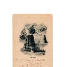 Postales: GALLEGA. COLECCIÓN ROMO Y FÜSSEL. TIPOS.. Lote 165852062