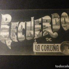Postales: LA CORUÑA RECUERDO DE LA CORUÑA. Lote 165856078