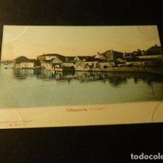 Postales: VILLAGARCIA DE AROSA PONTEVEDRA EL CASTRO. Lote 165876470