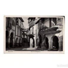 Postales: RIBADAVIA.(ORENSE).- PLAZA DE LA MAGDALENA.. Lote 166119998
