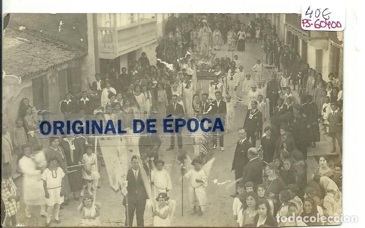 (PS-60400)POSTAL FOTOGRAFICA DE ARES ???- PROCESION (Postales - España - Galicia Antigua (hasta 1939))