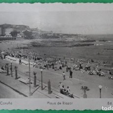 Postales: CORUÑA -PLAYA DE RIAZOR. Lote 166333750