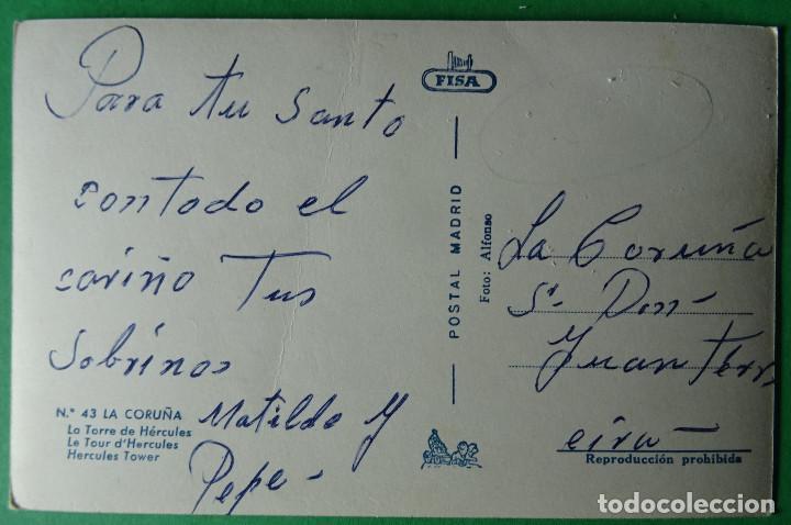 Postales: CORUÑA -TORRE DE HERCULES - Foto 2 - 166334086