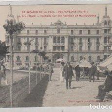 Cartes Postales: BALNEARIO DE LA TOJA. PONTEVEDRA. 4 GRAN HOTEL. FACHADA SUR DEL PABELLÓN DE HABITACIONES. Lote 167039364