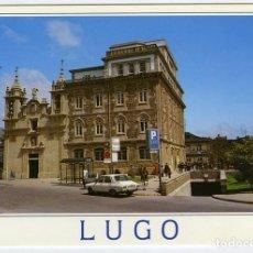 Postales: Nº 3698 - LUGO. PLAZA DE EL FERROL. ESCRITA EN 1996. ED. POSTALES FAMA.. Lote 167444876