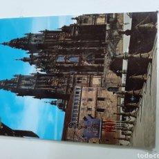 Postales: POSTAL CATEDRAL SANTIAGO DE COMPOSTELA. Lote 167934333