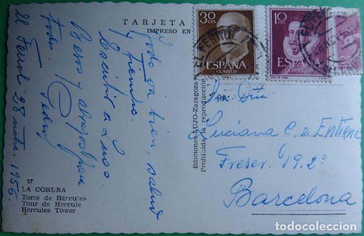 Postales: CORUÑA - TORRE DE HERCULES - Foto 2 - 168970544