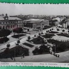 Postales: CORUÑA - PLAZA DE PONTEVEDRA. Lote 168971424