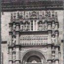 Postales: SANTIAGO DE COMPOSTELA.HOSTAL DE LOS REYES CATÓLICOS.PUERTA PRINCIPAL.ESCRITA.SIN GASTOS DE ENVÍO.. Lote 169056796