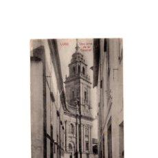 Postales: LUGO.- UNA TORRE DE LA CATEDRAL.. Lote 169350568