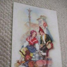 Postales: GALICIA, TIPOS GALLEGOS, DIBUJO DE FREIXAS. C. Y Z.. Lote 169581628