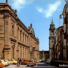 Postales: GALICIA – SANTIAGO DE COMPOSTELA – FACULTAD DE MEDICINA Y MONUMENTO A SAN FRANCISCO.. Lote 169922628