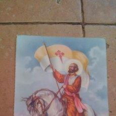 Postales: EL APOSTOL SANTIAGO - AÑO 1962 - POSTAL ESCRITA NO CIRCULADA. Lote 169966012