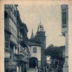 Postales: GALICIA BETANZOS PLAZA DEL GENERALISIMO FRANCO POSTAL ANTIGUA. Lote 170952944