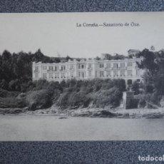 Postales: GALICIA LA CORUÑA SANATORIO DE ÓZA POSTAL ANTIGUA. Lote 170953089
