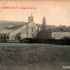 Postales: GALICIA SANTIAGO DE COMPOSTELA COLEGIATA DEL SAR POSTAL ANTIGUA. Lote 170953244