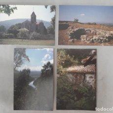 Postales: LOTE DE 4 POSTALES DE PUEBLOS DE OURENSE.. Lote 171094420