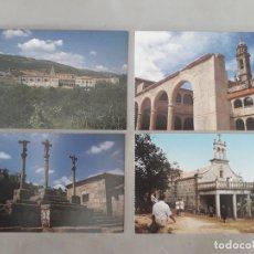 Postales: LOTE DE 4 POSTALES DE PUEBLOS DE OURENSE.. Lote 171095077