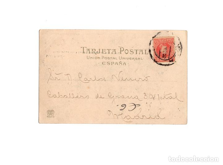 Postales: VILLAGARCIA.(PONTEVEDRA).- VISTA DE LA RÍA Y ESCUADRA INGLESA DEL CANAL. - Foto 2 - 171197888