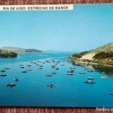 Postales: RIA DE VIGO - ESTRECHO DE RANDE. Lote 171404658