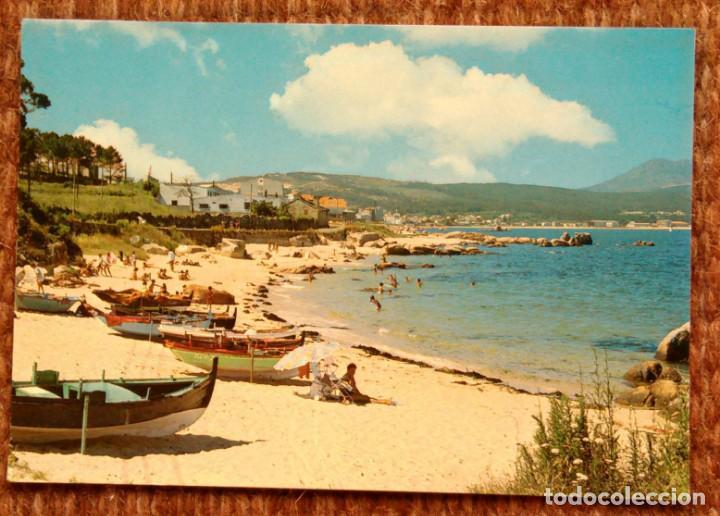 SANTA EUGENIA DE RIVEIRA - LA CORUÑA - PLAYA DE TOURO (Postales - España - Galicia Moderna (desde 1940))