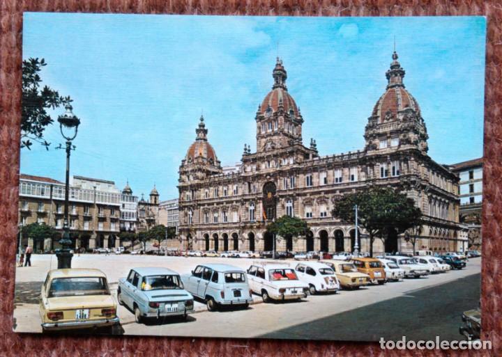 LA CORUÑA - PLAZA DE MARIA PITA (Postales - España - Galicia Moderna (desde 1940))