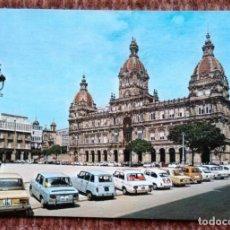 Postales: LA CORUÑA - PLAZA DE MARIA PITA. Lote 171405175