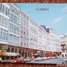 Postales: LA CORUÑA - PLAZA DE LA MARINA. Lote 171405304