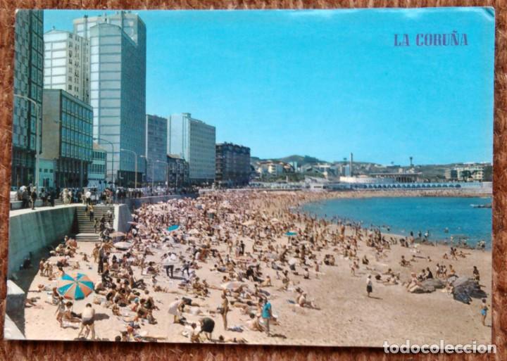 LA CORUÑA - PLAYA DE RIAZOR (Postales - España - Galicia Moderna (desde 1940))