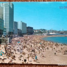 Postales: LA CORUÑA - PLAYA DE RIAZOR. Lote 171405348