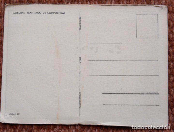 Postales: SANTIAGO DE COMPOSTELA - CATEDRAL - Foto 2 - 171405797