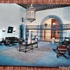 Postales: SANTIAGO DE COMPOSTELA - HOSTAL DE LOS REYES CATOLICOS - HALL. Lote 171406025