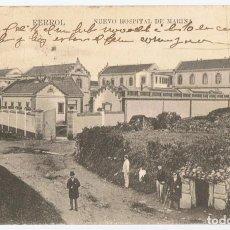Postales: POSTAL FERROL NUEVO HOSPITAL DE MARINA . Lote 171409895