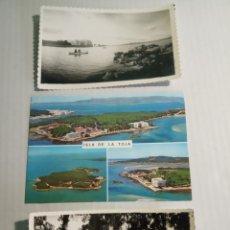 Postales: ISLA DE LA TOJA. Lote 171439933