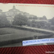 Postales: GALICIA 'SANATORIO CONJO CONXO PARQUE' SANTIAGO COMPOSTELA EDI THOMAS 9262 S/C DIVIDIDA + INFO 1S . Lote 171611662