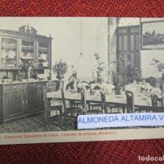 Postales: GALICIA 'SANATORIO CONJO CONXO COMEDOR' SANTIAGO COMPOSTELA EDI THOMAS 9252 S/C DIVIDIDA + INFO 1S . Lote 171611805
