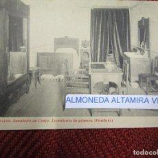 Postales: GALICIA 'SANATORIO CONJO CONXO DORMITORIO ' SANTIAGO COMPOSTELA EDI THOMAS 9253 S/C DIV. + INFO 1S. Lote 171612234