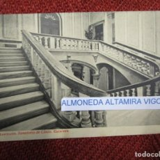 Postales: GALICIA 'SANATORIO CONJO CONXO ESCALERA' SANTIAGO COMPOSTELA EDI THOMAS Nº24 S/C DIV. + INFO 1S. Lote 171612623