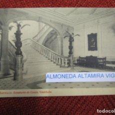 Postales: GALICIA 'SANATORIO CONJO CONXO VESTIBULO' SANTIAGO COMPOSTELA EDI THOMAS Nº9247 S/C DIV. + INFO 1S. Lote 171612739