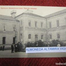 Postales: GALICIA 'SANATORIO CONJO CONXO PATIO ENFERMOS' SANTIAGO COMPOSTELA EDI THOMAS Nº9278 S/C DIV.+INFO1S. Lote 171612934