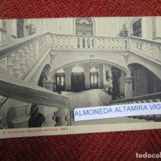Postales: GALICIA 'SANATORIO CONJO CONXO PATIO HALL' SANTIAGO COMPOSTELA EDI THOMAS Nº9248 S/C DIV.+INFO1S. Lote 171613049